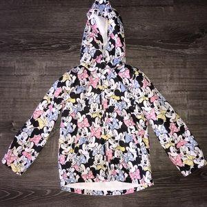 🌺5/$20🌺 H&M Minnie Mouse Rain Jacket